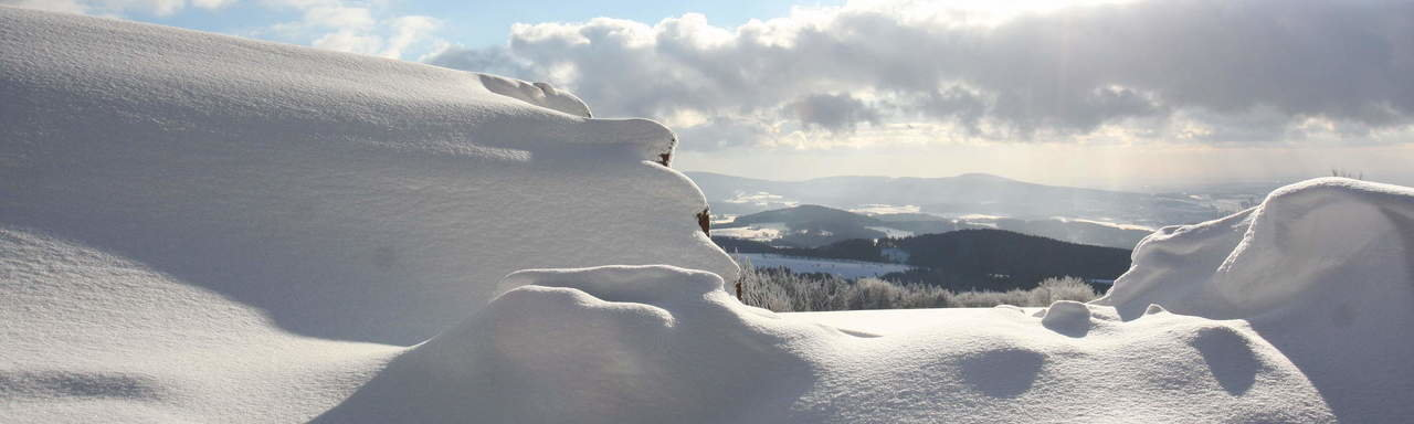Winter in Grainet Bayerischer Wald