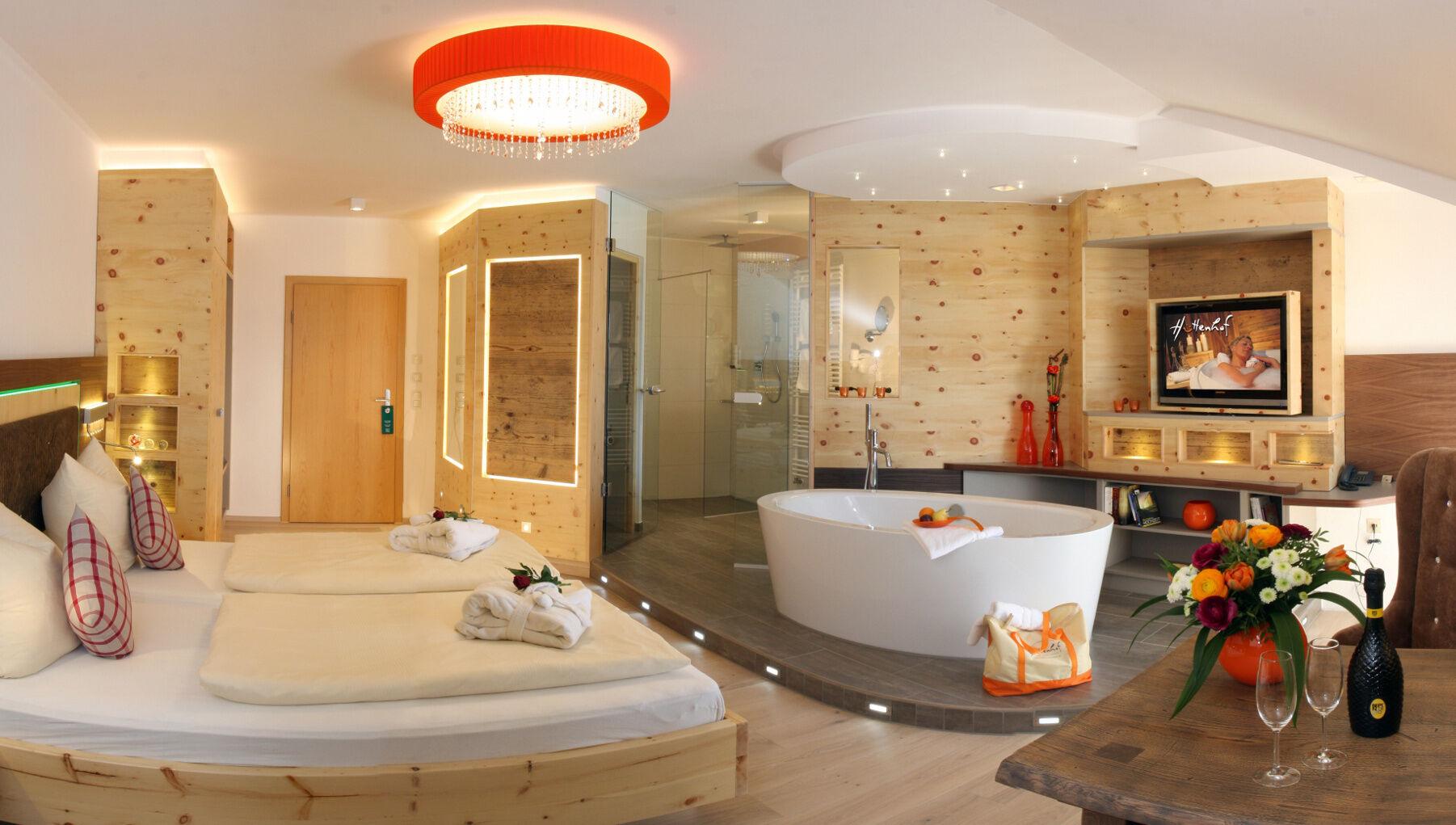 Wohlf hlzimmer 4 sterne wellnesshotel h ttenhof for Warnemunde zimmer mit fruhstuck